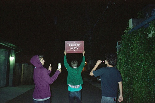 party, boy, and private image