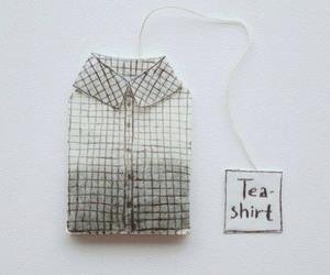 tea, shirt, and grunge image