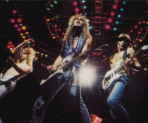 band, heavy metal, and def leppard image