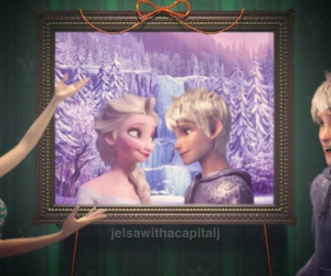 disney, jack frost, and jelsa image