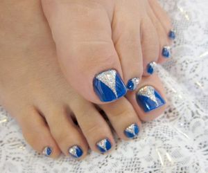nails, belleza., and uñas. color. glamour image