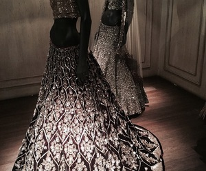 dress, beauty, and design image