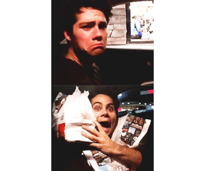 dylan, food, and dylan o'brien image