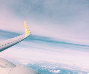 adventure, Flying, and travel image
