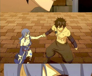 anime, fairy tail, and gruvia image