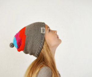 kids hats and slouchy knitted hat image