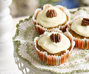 carrot, carrot cake, and cupcakes image