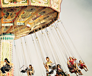 photography, swings, and vintage image