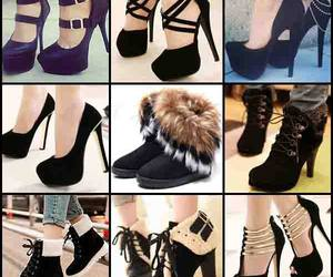 beauty, fashion shoes, and shoes image