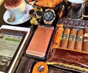 cigar, expensive, and luxury image
