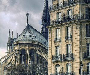 paris, france, and notre dame image