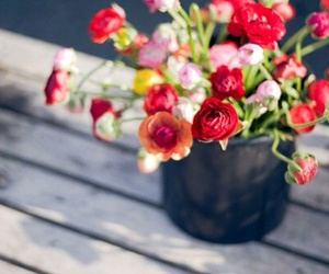 flowers, pastel, and vintage image