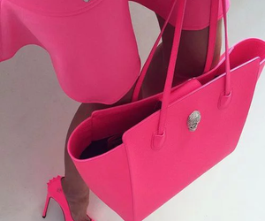 pink, luxury, and bag image