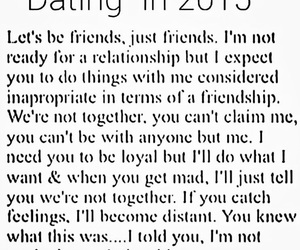 dating, 2015, and Relationship image