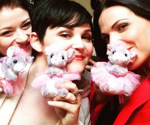 lana parrilla, Emilie de Ravin, and ginnifer goodwin image
