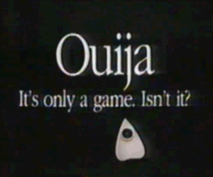 ouija, game, and ghost image