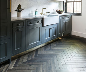 floors, kitchen, and wooden image