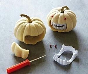 Halloween, pumpkin, and diy image