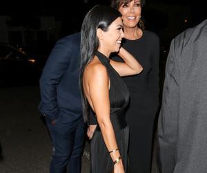 kourtney kardashian and kris jenner image
