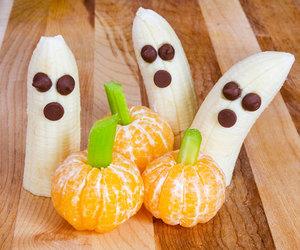banana and Halloween image