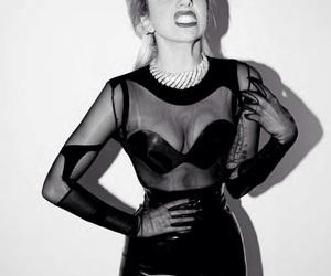 Lady gaga and black image