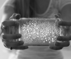 glitter, magic, and jar image