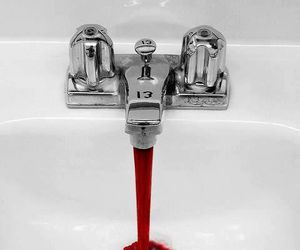 blood, 13, and red image