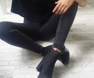 black, fashion, and style image