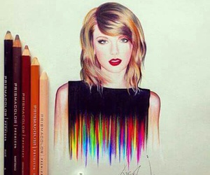 art, Taylor Swift, and drawing image