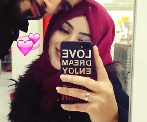 awesome, couple, and heart image