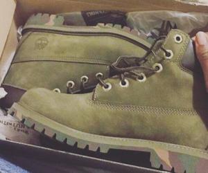 fashion, timberland, and boots image