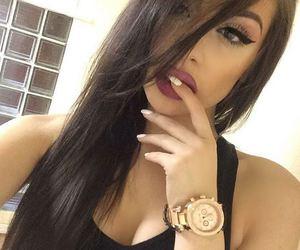 girl, makeup, and perfect image