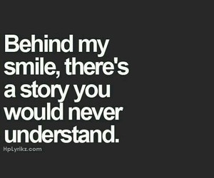 smile, quotes, and story image