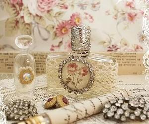 vintage, perfume, and pink image