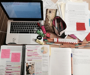 study, book, and studying image