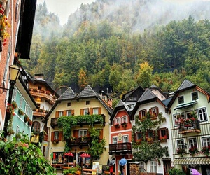 travel, austria, and house image