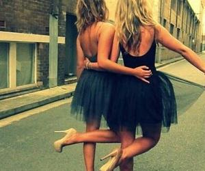 friends, dress, and best friends image