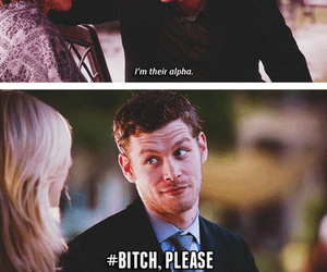 klaus, funny, and tyler image