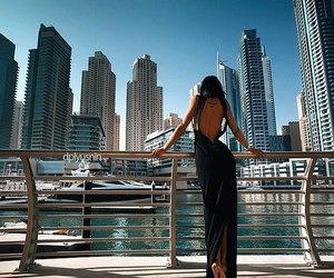 dress, black, and Dubai image