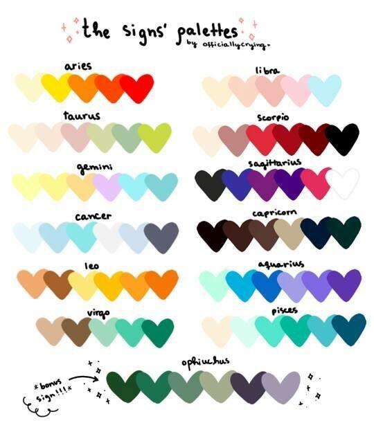 taurus astrological color