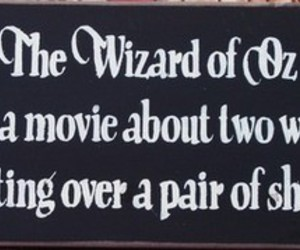 shoes and Wizard of oz image