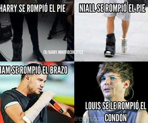 espanol, liam payne, and one direction image