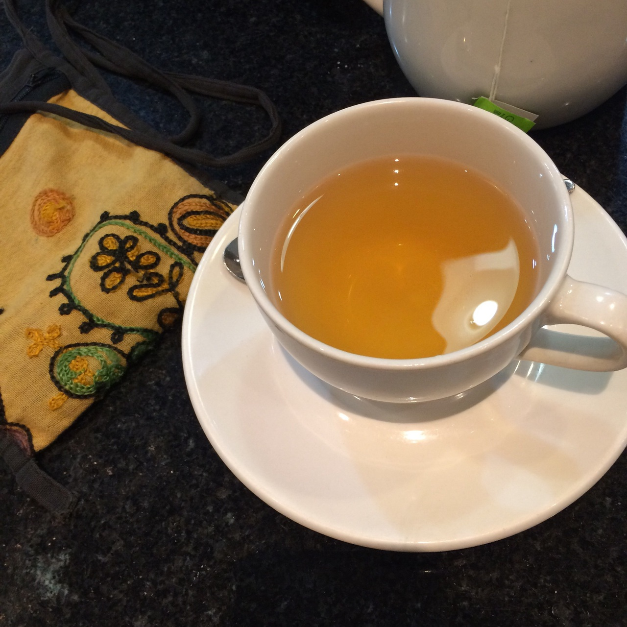 chic, girly, and green tea image