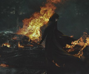 fire and witch image