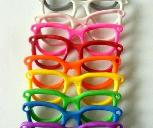colorful, colors, and glasses image