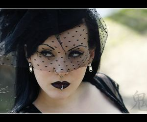 beauty, goth, and gothic image