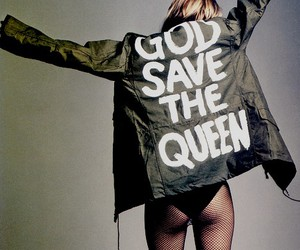 fashion, god save the queen, and model image