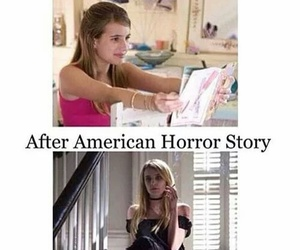emma roberts, scream queens, and ahs image