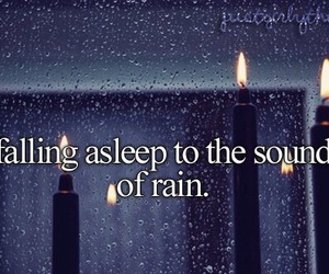 rain, sleep, and sound image