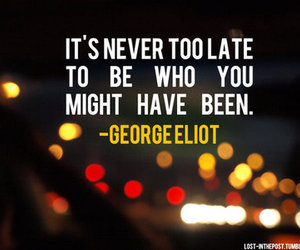 quote, text, and george eliot image